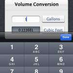 Water Chart - Volume Calculator